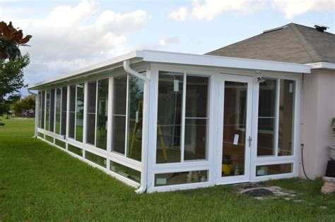 sunrooms rollshield hurricane  storm protection