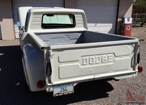 truck bed cer 1966 dodge d 100 short bed stepside pickup truck