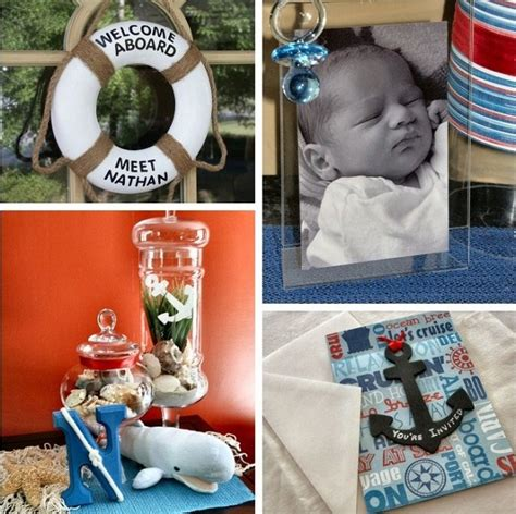 nautical baby shower decorations for home nautical baby