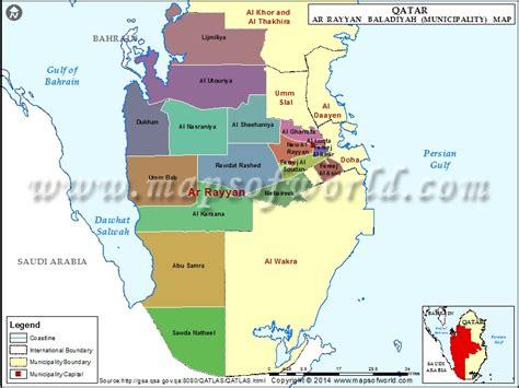 zip code map qatar al rayyan province map qatar