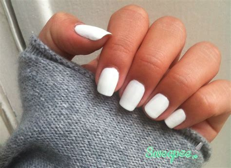 Manucure Gel Blanc by 2013 Septembre Archive Sweapee