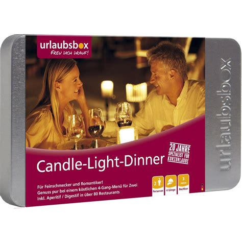 candle light dinner in boston quot candle light dinner quot von urlaubsbox