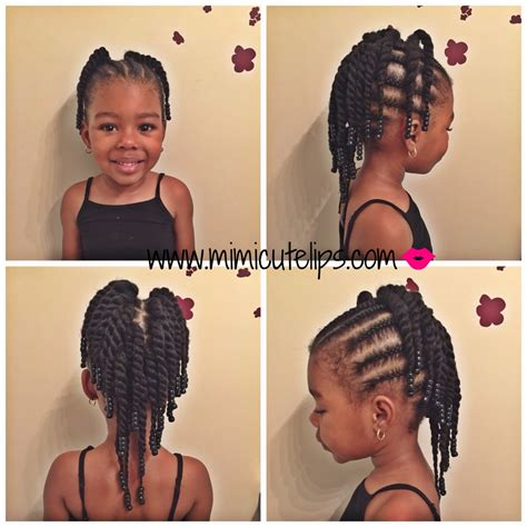 plaits nature hairstyles natural hairstyles for kids vol ii mimicutelips