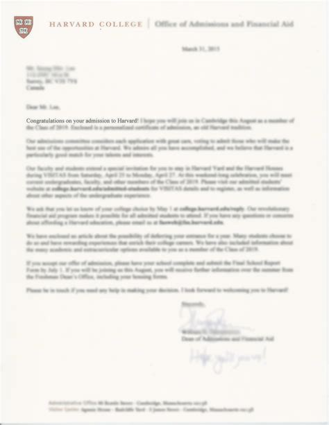 Imperial College Acceptance Letter college admission result pen education
