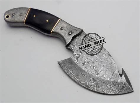custom knife shop new damascus skinner knife custom handmade damascus steel
