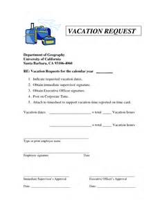 Vacation Request by Employee Time Template 2016 Calendar Template 2016