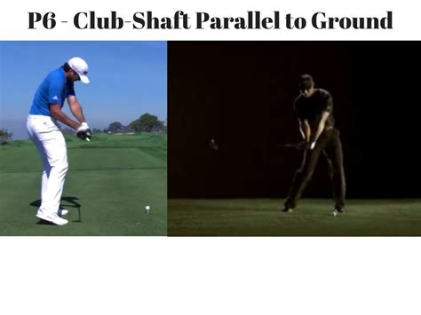 the golf swing the of the golf swing p classification system