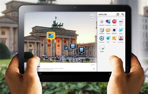 reality for android wikitude augmented reality browser now offers android honeycomb tablet support