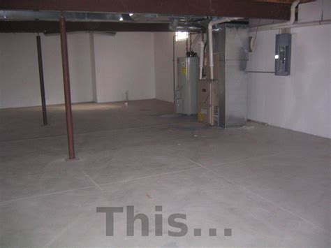 Unfinished Basement Floor Ideas Unfinished Basement Lighting Ideas
