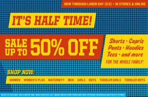 old navy coupons labor day 50 off at old navy faithful provisions
