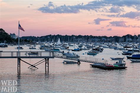 boat shop marblehead marblehead harbor filled with boats at sunset marblehead ma