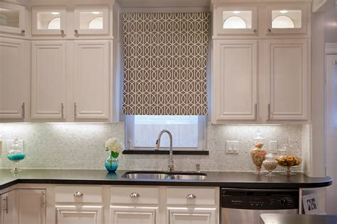 Kitchen Shades Ideas Choosing The Right Kitchen Window Treatments Interior