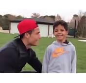 Vid&233o  Cristiano Ronaldo Complice Comme Jamais Avec Son Fils