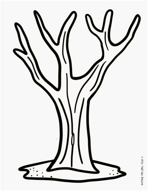teach easy resources fall tree finger painting