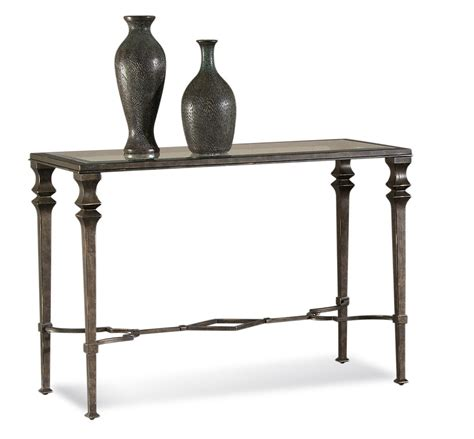 Lido Console Table (Wrought Iron Finish)   [T1210 400] : Decor South