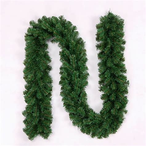 2 7 meters pine artificial christmas wreath garland unlit