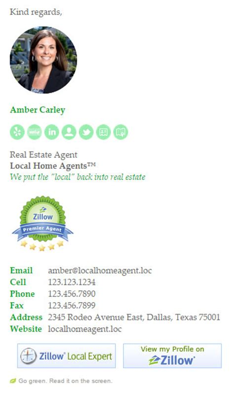 Realtor Email Signature Template Email Signature Rescue Real Estate Email Signature Templates