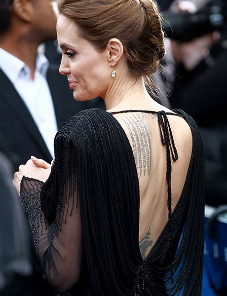 angelina jolie tattoo tibet 5 celebrity tattoo stories you didn t know about very real
