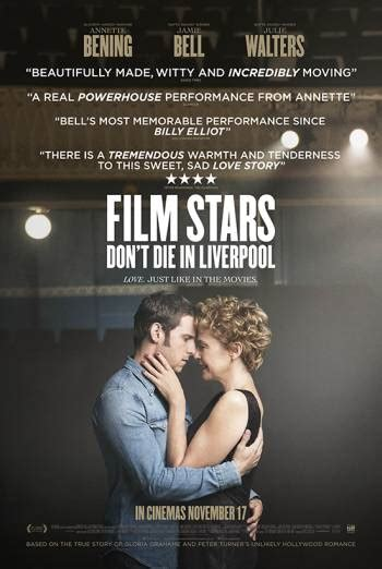 new movies on dvd film stars dont die in liverpool by jamie bell film stars don t die in liverpool british board of film classification