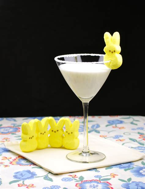 martini easter easter marshmallow martini the vodka doll