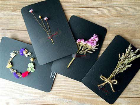 Handmade Small Gifts - handmade cards immortalized dried flowers birthday