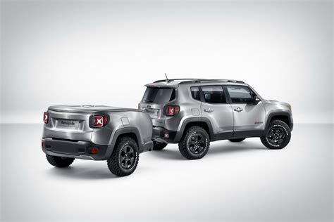 jeep renegade silver jeep renegade gets a trailer sidekick with hard steel