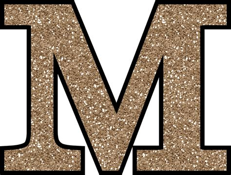 m u gliter free glitter alphabet to and print