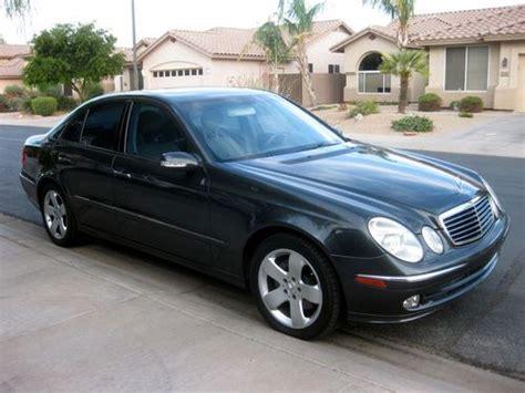 2004 Mercedes E500 by Purchase Used 2004 Mercedes E500 Base Sedan 4 Door 5