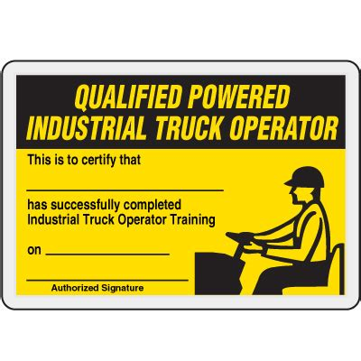 forklift operator certification card template forklift certificate template cards choice image