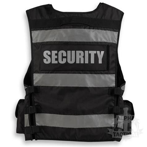 security vest tactical security duty patrol vest black sia industry door staff ebay