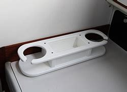 starboard boat cup holders drink holder with storage box