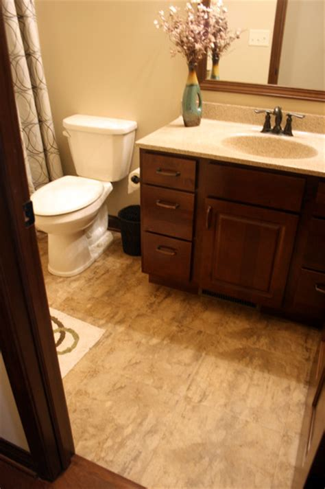 luxury vinyl flooring bathroom luxury vinyl tile lvt bathroom chicago by tudor