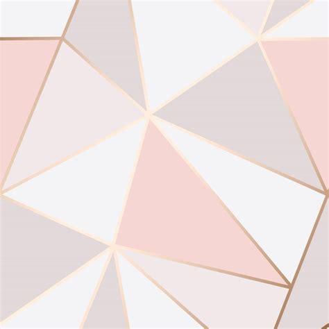 pink wallpaper melbourne pink rose gold geometric wallpaper brokers melbourne