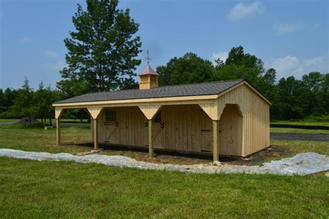 lean  horse barns  pa nj md ny   structures