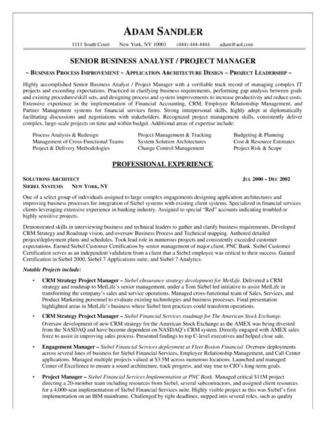 Business Analyst Resume Sample Doc – Business Analyst Resume Sample   Template Design