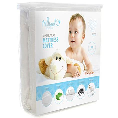 Milliard Crib Mattress Topper Milliard Quilted Waterproof Crib Toddler Mattress Protector Pad Premium Hypoallergenic