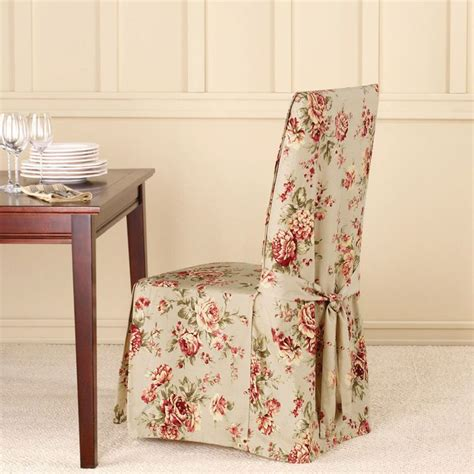 Floral Slipcovers Floral Dining Chair Slipcover Home Ideas