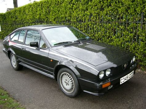 1980 1987 alfa romeo alfetta gtv6 171 sonartist