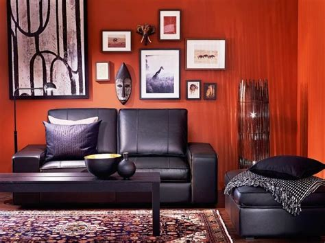 black white and red living room 15 black red and white themed living rooms rilane