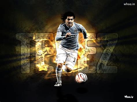 carlos tevez kick  football hd football wallpaper