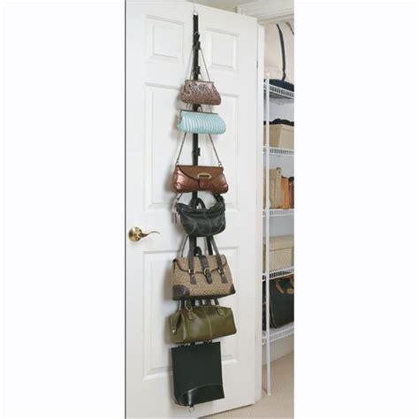 Jokari Purse Rack by Handbag Style Purse Rack Hanging Handbag Organizer By