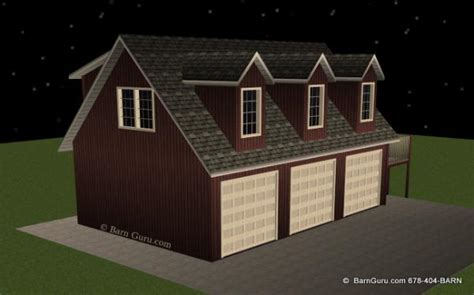 garage plans with living quarters workshop with living quarters three car garage with