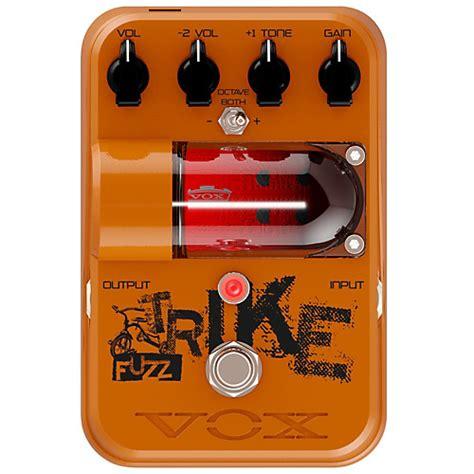 Garage Rock Guitar Tone by Vox Tone Garage Trike Fuzz Guitar Effects Pedal Musician