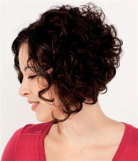 stacked bob haircut pictures curly hair curly stacked bob haircut short hairstyle 2013