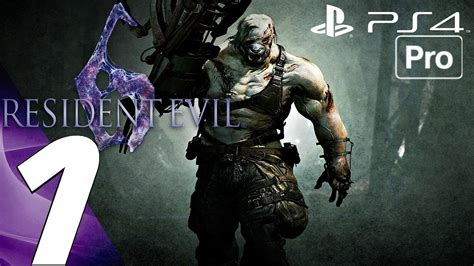 Ps4 Residen Evil 6 Ori resident evil 6 ps4 gameplay walkthrough part 1 prologue jake 1080p 60fps