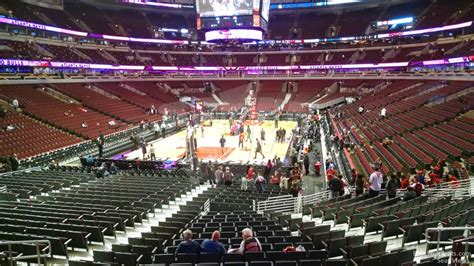 section 118 united center united center section 105 chicago bulls rateyourseats com