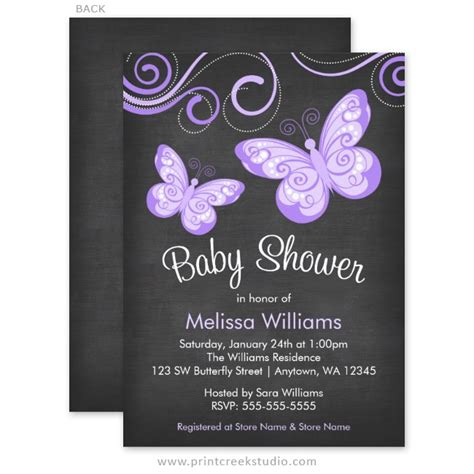 Butterfly Invitations For Baby Shower by Oh Baby Blush Pink Gold Glitter Baby Shower Invitations
