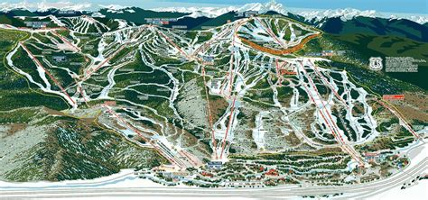 vail map where to shred