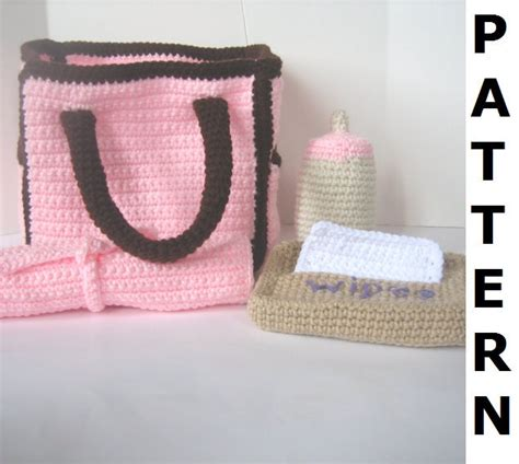 free crochet pattern baby bag diaper bag crochet pattern