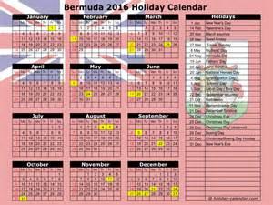 Bhutan Calendã 2018 Bermuda 2016 2017 Calendar